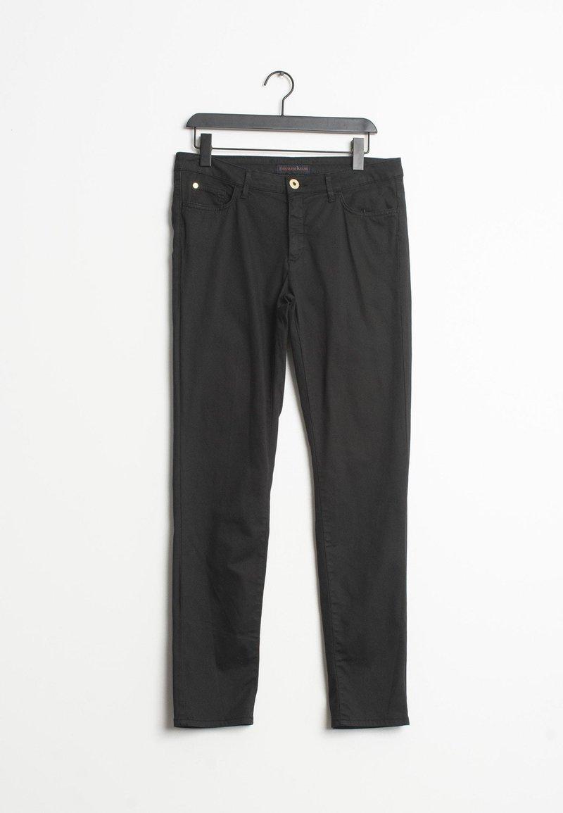 Trussardi Jeans - Straight leg jeans - black