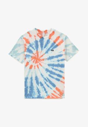 MN OFF THE WALL SUNBURST TIE DYE SS - Print T-shirt - spicy orange/tie dye