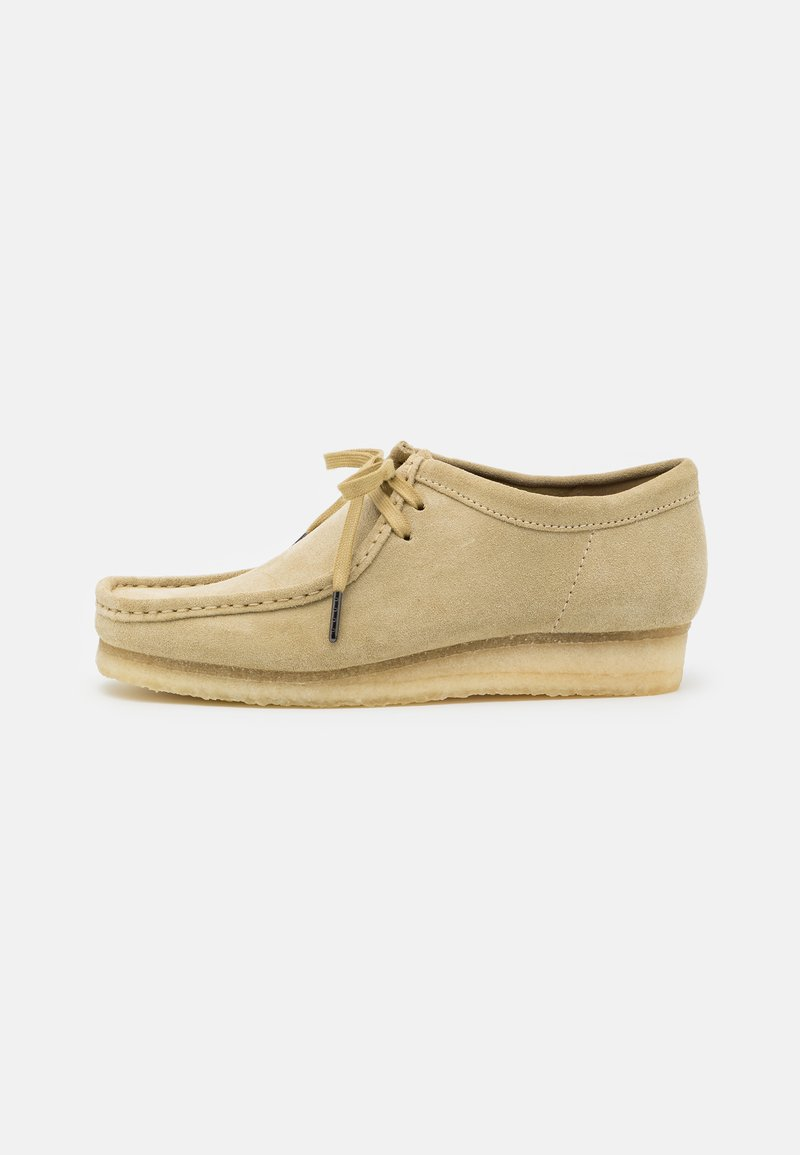 Clarks Originals - WALLABEE - Casual lace-ups - maple