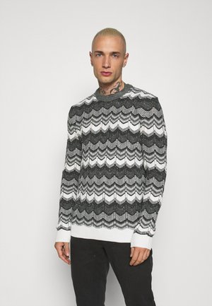 ONSPARTH CREW NECK KNIT - Jumper - medium grey melange