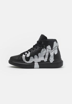 SALERNO MID - High-top trainers - black