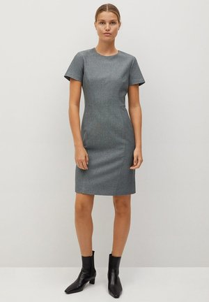 IRIEL - Shift dress - grey