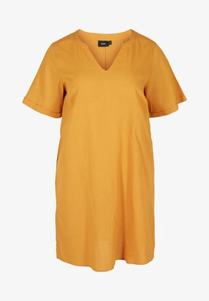 Vestido ligero - honey mustard