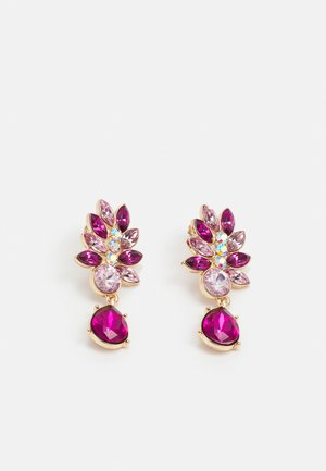 PCLARVA EARRINGS - Earrings - pink/rose/gold-coloured