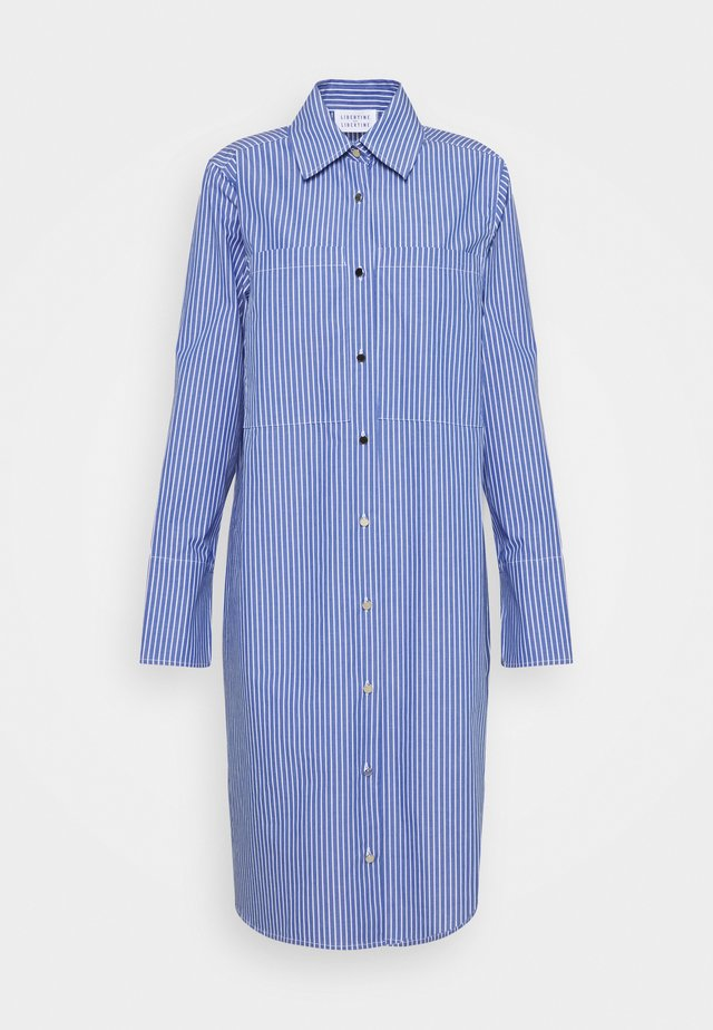EAST - Shirt dress - blue pin
