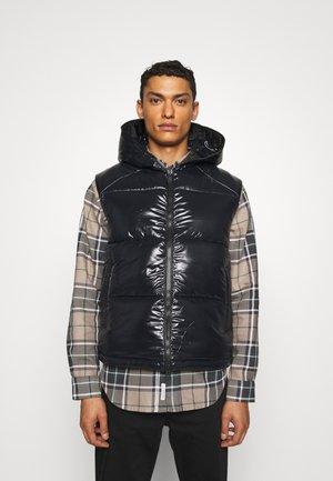 DEXTER - Waistcoat - black