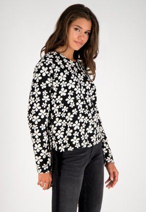 Sweatshirt - schwarz-multicolor