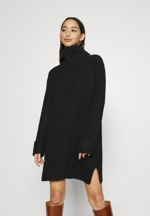 PLATED FUNN - Jumper dress - black