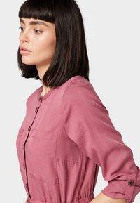 TOM TAILOR DENIM - Shirt dress - dry rose - 3
