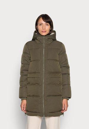 PERL PUFFER - Zimní kabát - dark khaki