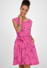 alife & kickin - Day dress - fuchsia - 0