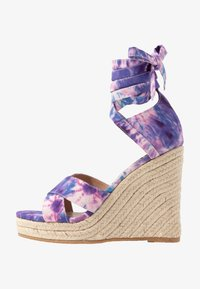 Even&Odd - Korolliset sandaalit - pink/blue - 1