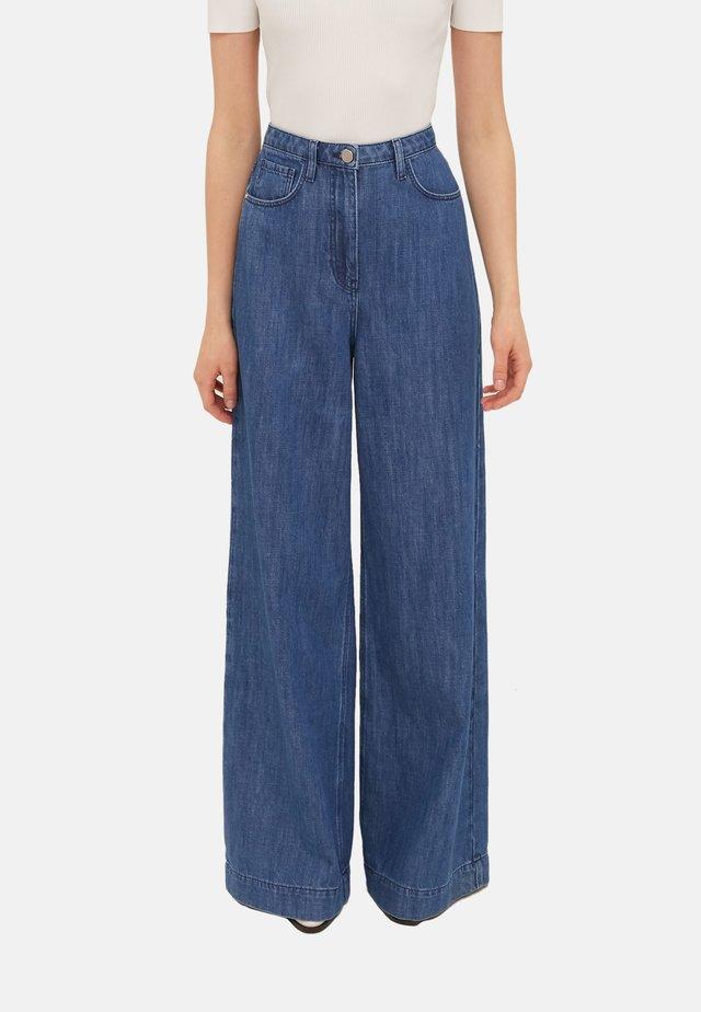 Jeans a zampa - blu