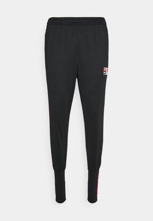 FC PANT SOCK CUFF  - Træningsbukser - black/chile red