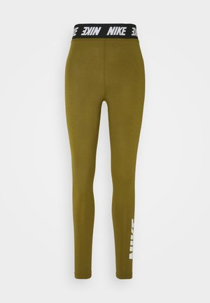CLUB  - Leggings - olive flak/white