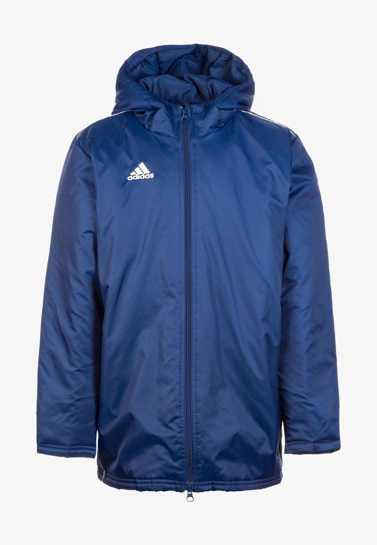 adidas Performance - CORE 18 STADIUM FILLED - Regnjakke / vandafvisende jakker - dark blue / white