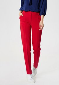 DreiMaster - Trousers - red - 0