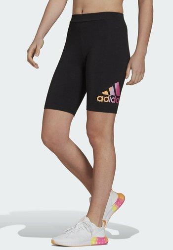 Favorite Q2 Back SHO ESSENTIALS SPORTS FITTED SHORT LEGGINGS - Shorts - black