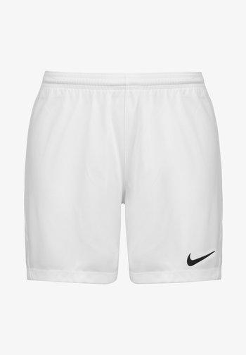 DRY PARK III - Sports shorts - white / black