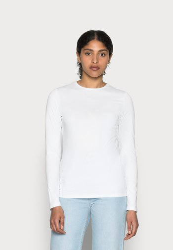 SMILLA - Långärmad tröja - white