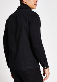River Island - Denim jacket - black - 2