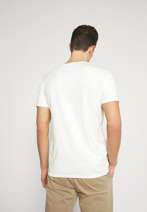 Marc O'Polo DENIM SMALL CHEST LOGO 2 PACK - T-shirt basic - scandinavian white/scandinavi/biały Odzież Męska MIHK