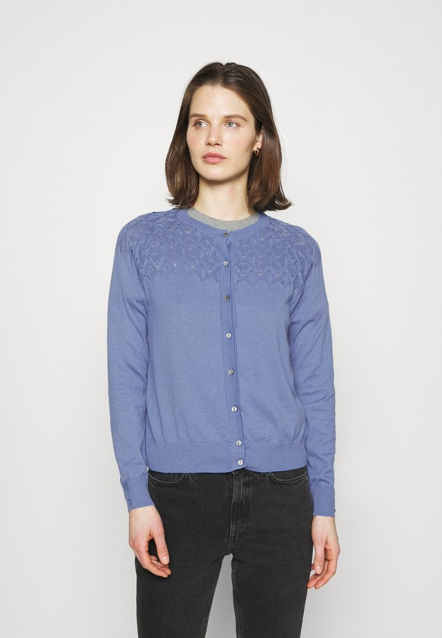 ESSENTIAL - Cardigan - blue yonder