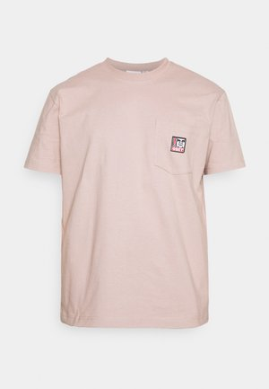 POINT ORGANIC POCKET TEE - Print T-shirt - gallnut