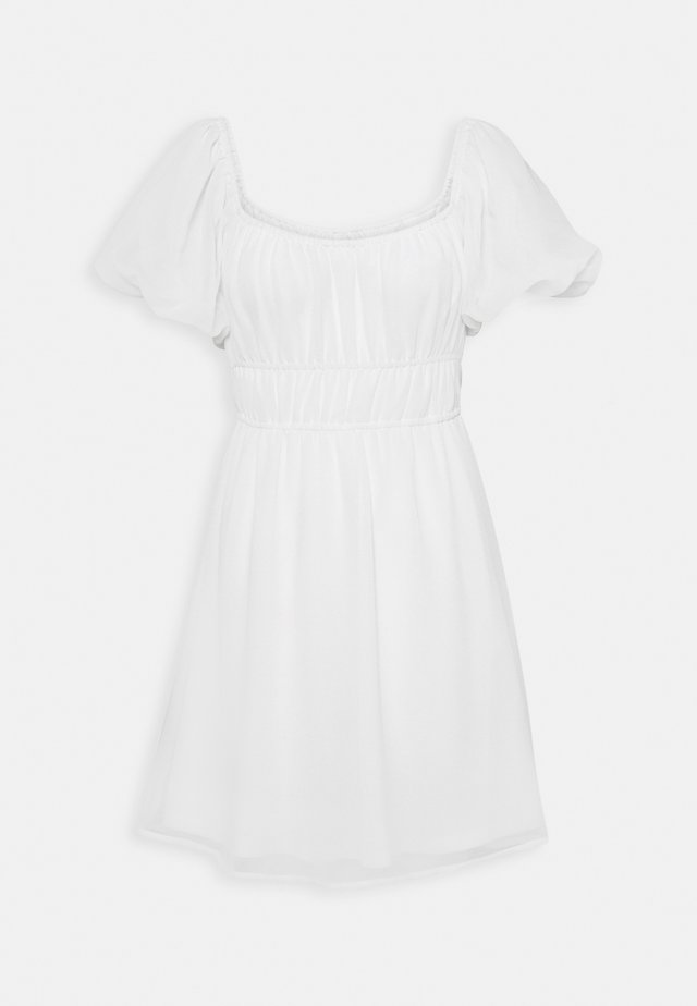 MAKE IT HAPPEN DRESS - Vapaa-ajan mekko - white