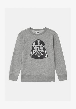 BOYS STAR WARS DARTH VADAR CREW - Sweatshirt - light heather grey