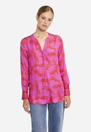 Tunic - magenta print