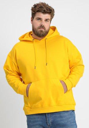 OVERSIZED HOODY  - Luvtröja - chrome yellow