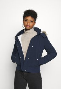 Hollister Co. - ALL WEATHER - Winter jacket - navy - 0
