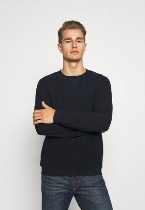 STRUCTURED CREWNECK - Jumper - sky captain blue