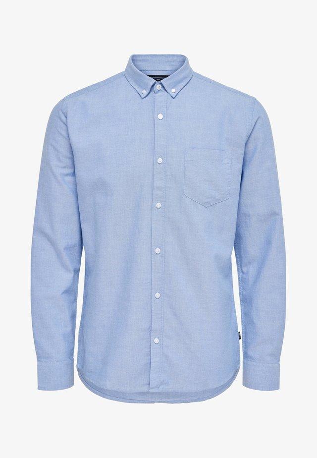 ONSALVARO OXFORD - Overhemd - cashmere blue