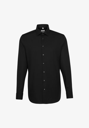 SLIM FIT - Shirt - schwarz