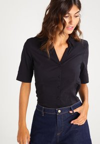 More & More - Button-down blouse - black - 0