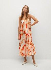Mango - Day dress - orange - 0
