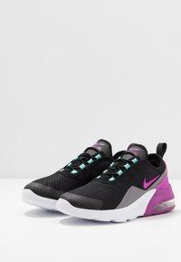 Nike Sportswear - AIR MAX MOTION 2 - Loafers - black/hyper violet/gunsmoke/aurora green - 3