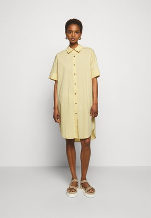 LAFAY DRESS - Blousejurk - light yellow