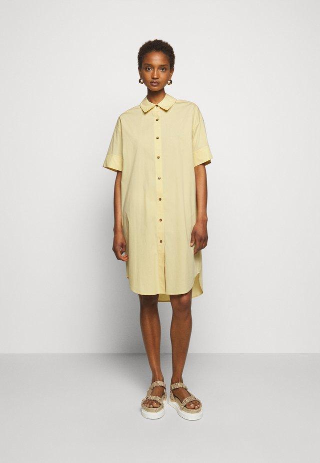 LAFAY DRESS - Shirt dress - light yellow