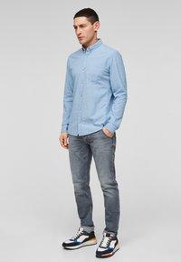 Q/S designed by - Shirt - light blue melange - 1