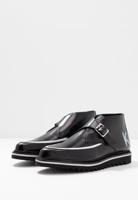 KARL LAGERFELD - BUCKLE SHOE MID - Ankle boots - black - 4