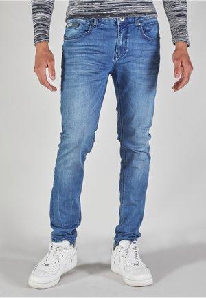 TORINO - Slim fit -farkut - mid blue