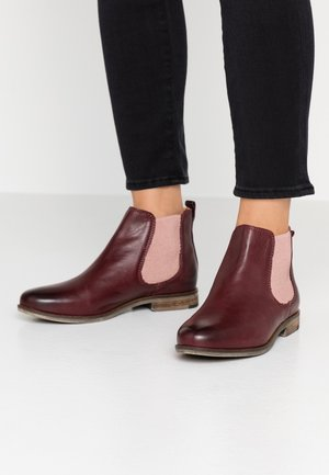 MANON - Ankle boots - bordo