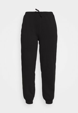 PCROKKA PANTS LOUNGE - Tracksuit bottoms - black