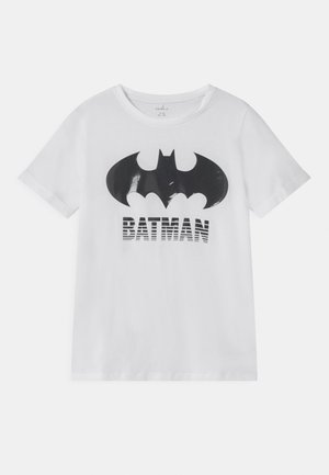 NKMBATMAN CORE - Print T-shirt - bright white