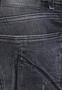CHASIN' - EGO COLOMBO - Slim fit jeans - black - 3