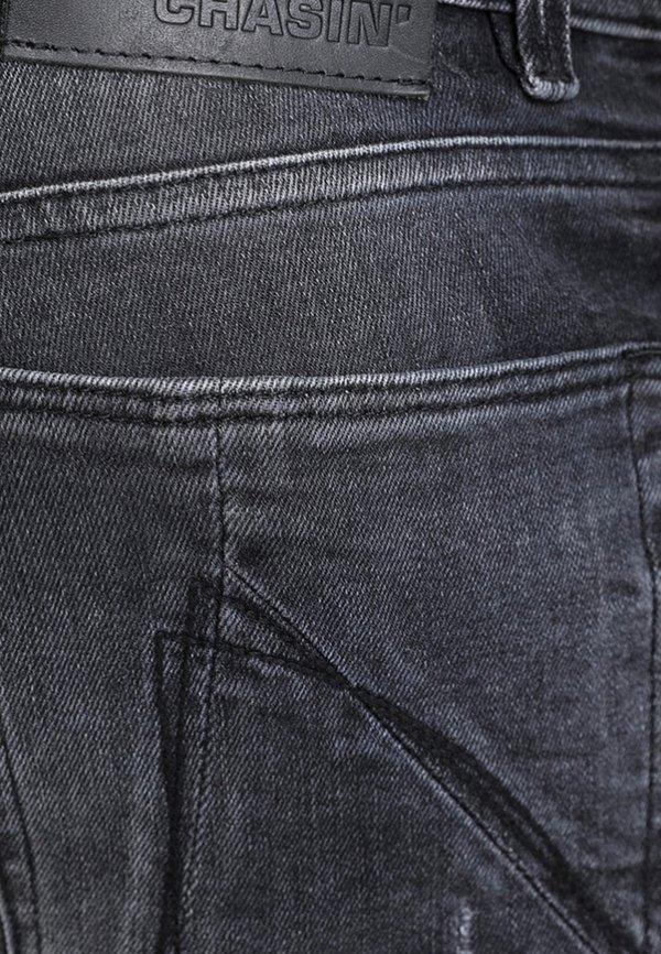 CHASIN' EGO COLOMBO - Jeansy Slim Fit - black/czarny Odzież Męska LTSU