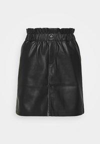 Noisy May - NMJUDO PENNY PAPERBACK SKIRT  - Mini skirt - black - 0